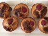 Raspberry and Marshmallow Friands