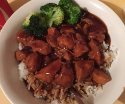Honey soy chicken (inspired my ThermOMG)