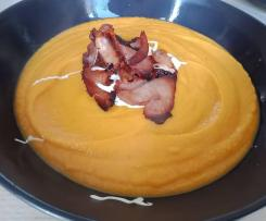 Orange Soup - Pumpkin, Sweet Potato & Carrots