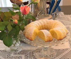 Tangy Lemon Cake with Chantilly Cream