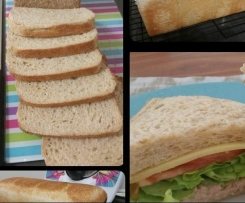 Jumbo Wholemeal Bread Loaf - Thermomumma