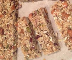 Fruit, nut and seed slice