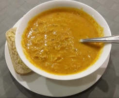 Mulligatawny Soup (Curried Chicken and Rice Soup)