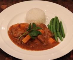 Red Beef and Pumpkin Curry