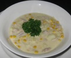Chicken & Corn Soup