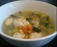 Chicken Dumplings in Soup (Paleo, GAPS, Gluten/Dairy FREE)