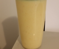 Mango & Banana smoothie