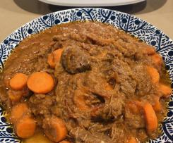 Stewed Beef Brisket with tomato