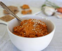 Roasted Carrot & Garlic Dip