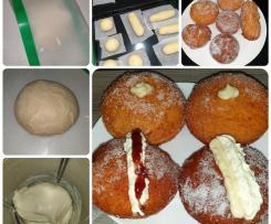 Bombolini (Filled Doughnuts)