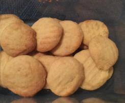 Coconut Biscuits - Gluten free, Sugar free