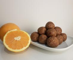 Orange and Poppy Seed Energy Balls