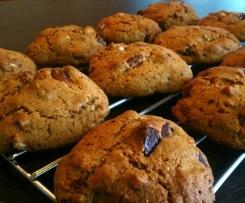 Paleo Soft American Style Cookies 3 ways! - Grain & Gluten Free, Vegan option