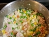 Bacon, Sweet Potato, Pea and Corn Risotto