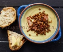 Cauliflower, Pancetta and Lentil Soup