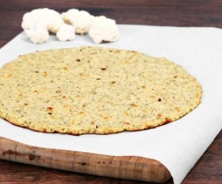 LCHF CAULIFLOWER     PIZZA BASE