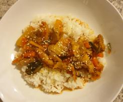 Variation Easy chicken kimchi