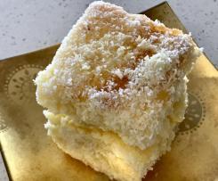 Passionfruit Jelly cakes with Vanilla Custard Cream filling