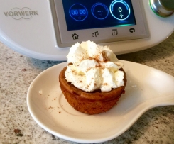 Impossible Pumpkin Pie Cupcake