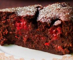Chocolate Raspberry Pudding Cake by Nigella Lawson (conversion)