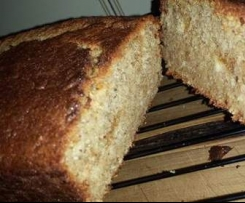 Banana & Coconut Bread (adapted from Jamie Oliver recipe)