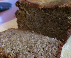 Gluten & Refined Sugar-Free Banana Bread