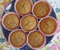 Feijoa spelt muffins