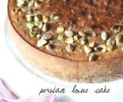 Persian Love Cake (Gluten Free)