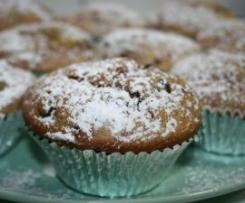 Tiramisu Raspberry Muffins