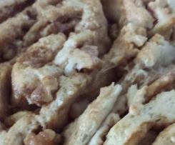 Walnut & Butterscotch Scrolls