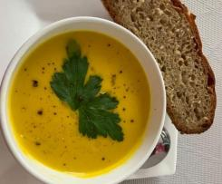 Moroccan pumpkin soup