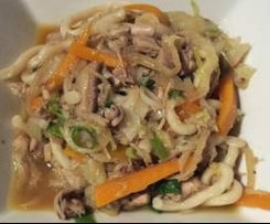 Yakiudon Noodles