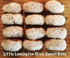 Little Lamington Style Iced Sweet Buns TM5 TM31