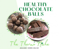 Healthy Chocolate Balls by The Thermo Niche
