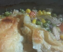 Chicken and Veg Pie