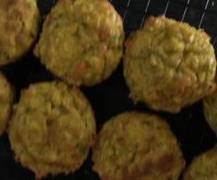 Mini Veg & Curry Quiches