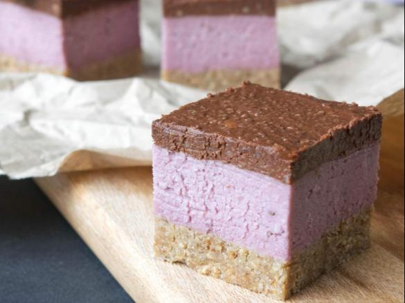 Raw chocolate raspberry slice by thermo nutritionist a thermomix thumbnail image 1 forumfinder Gallery