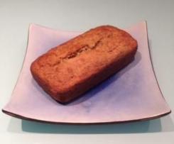 Sugarless Banana Loaf