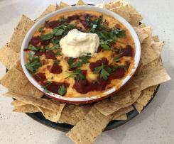 Cheesey Mexican Salsa Dip