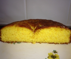 Orange and coconut cake