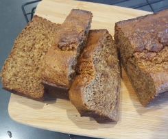 Low Fat Pear and Banana Bread
