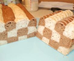 Checkerboard bread (GF, DF)