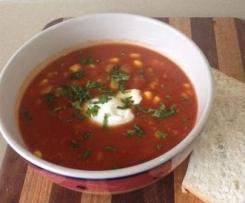 4 bean & corn soup