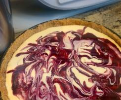 Berry Baked Cheesecake