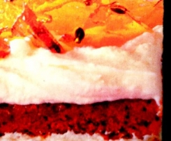 Orange Passion Toffee Cake