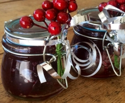 Festive Cherry Jam