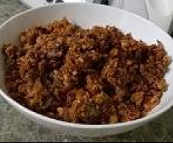 Paleo Crunchy Museli