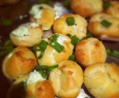 Cheese stuffed Choux