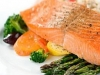 Salmon and Veg super quick!