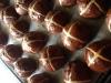 Chocolate Cranberry Mini Hot X buns